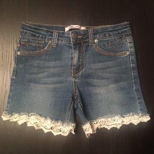 Girls Vigoss Denim Shorts size 14